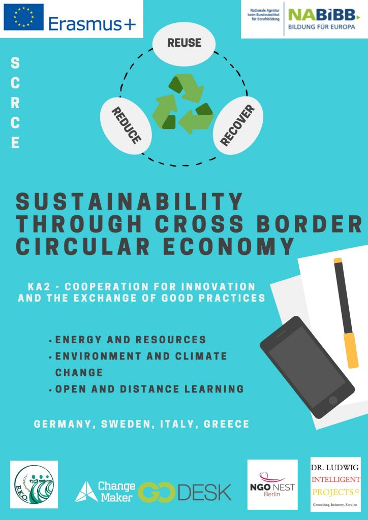 Sustainability through Cross Border Circular Economy (SCRCE)