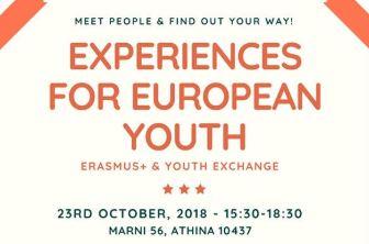 Seminar «Experiences for European Youth»