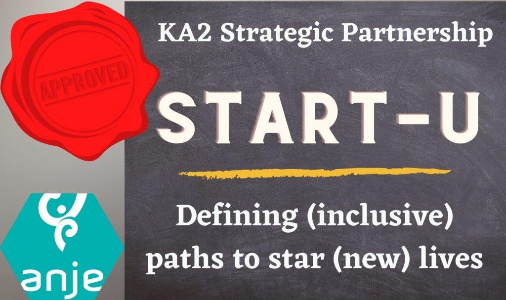 START-U KA205 Project Approved!