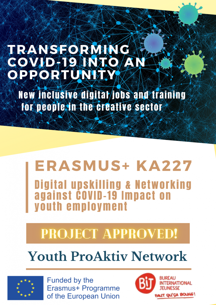 """""""Transforming COVID-19 into an opportunity"""" KA227 project approved!"""
