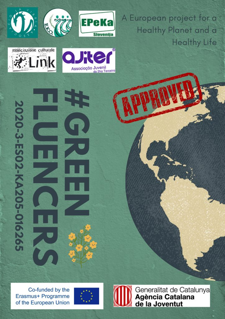 """""""#GREENFLUENCERS, Youth workers for a greener future"""" KA205 project approved!"""